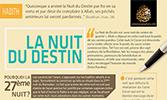 Infographie : Nuit du Destin