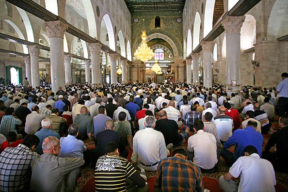 La prière du Vendredi (Jumaa) à Al-Aqsa